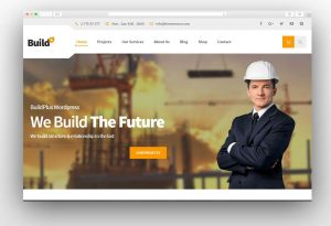 BuildPlus - Construction WordPress Theme