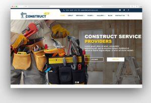 Construction - Construction Business WordPress Theme