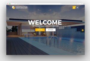 Construction - Construction WordPress Theme