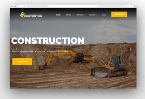 Construction – Construction WordPress Theme