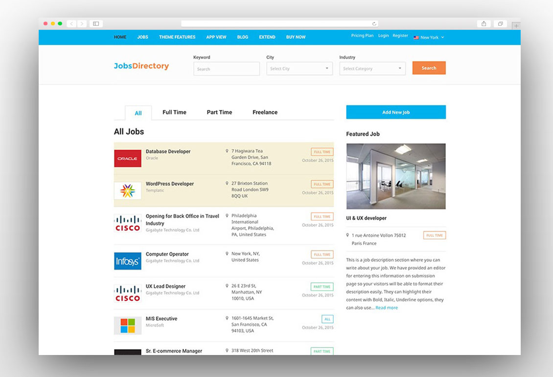 15 Best Job Board Wordpress Themes 2018 Antthemes