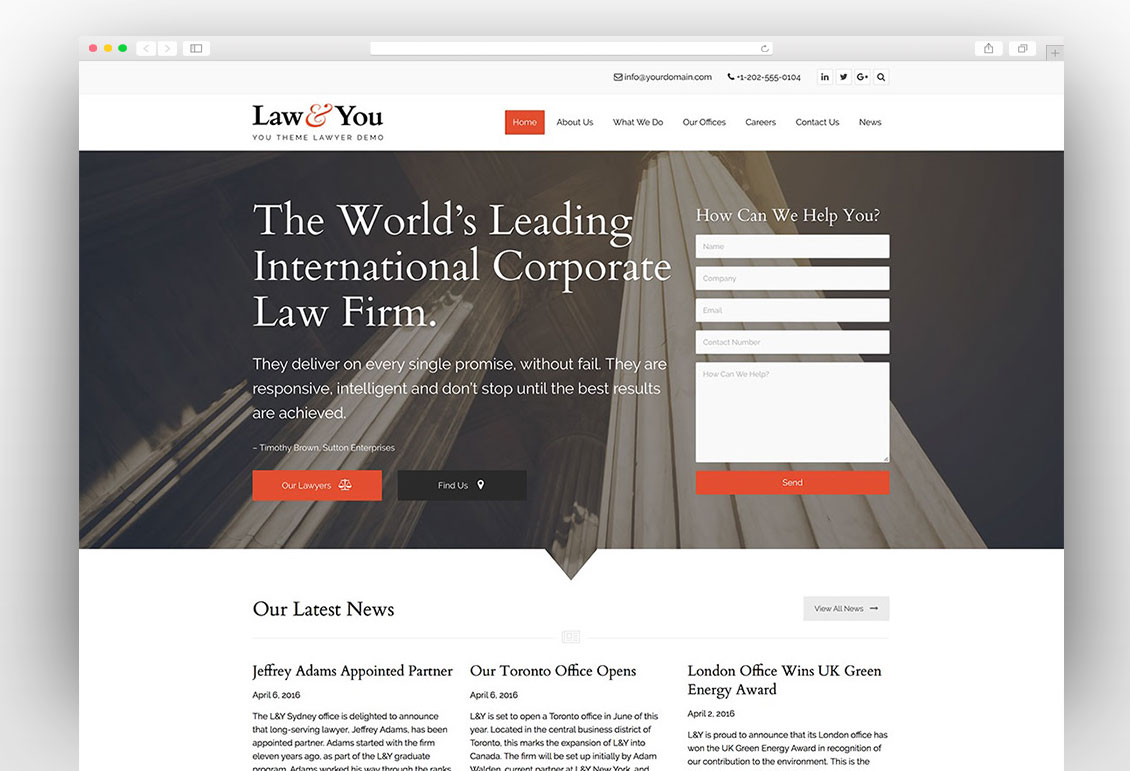 You Multipurpose WordPress Theme