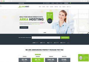 arkhost-professional-hosting-wordpress-theme