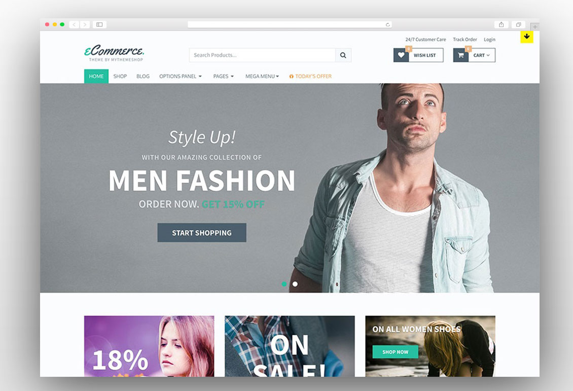 eCommerce by MyThemeShop