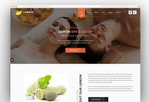 Lemon spa wordpress theme
