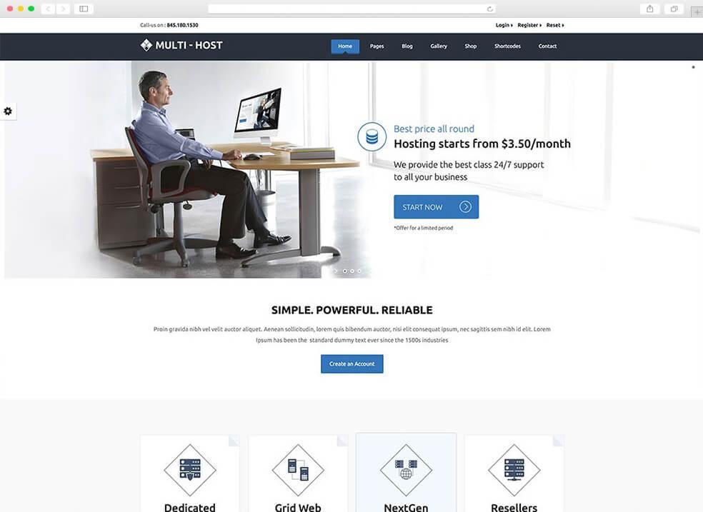 multihost-light-web-hosting-theme
