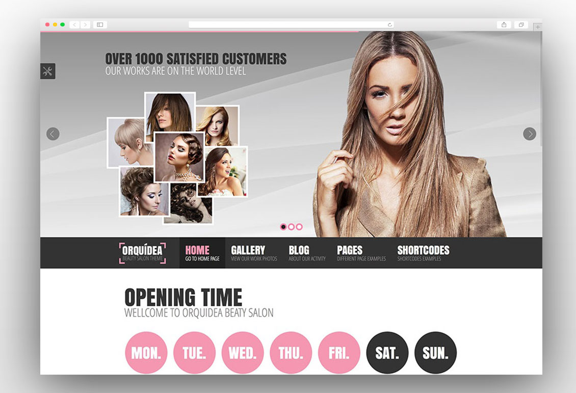 15 Best Spa Beauty Salon Hair Mage Nail WordPress Themes 2017