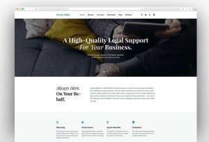 Business Theme by TemplateMonster