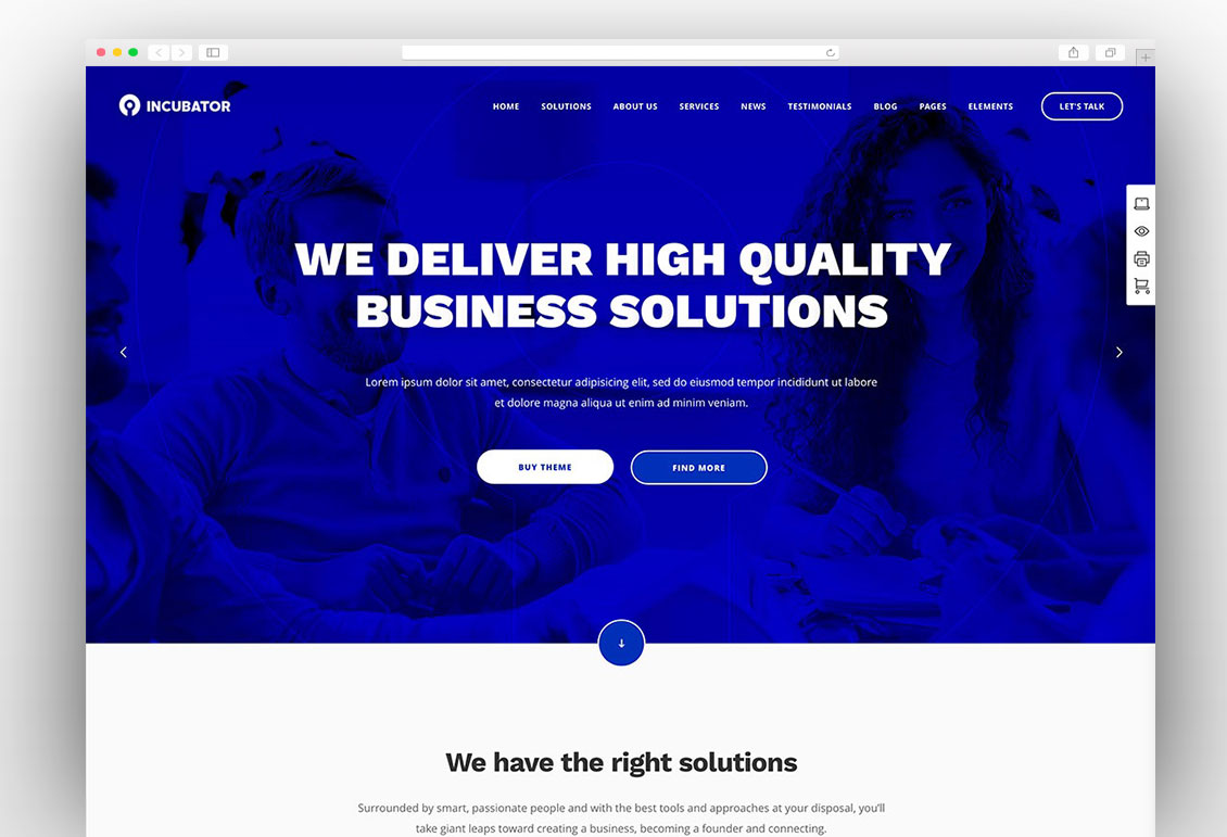 50 best wordpress corporate business themes of 2018