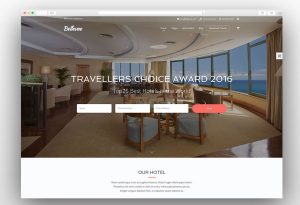 Bellevue hotel booking theme