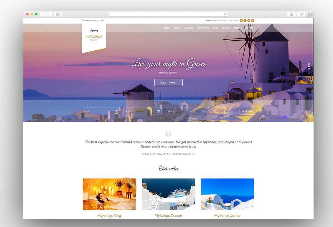 Mykonos Resort