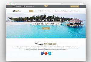 Restinn hotel booking theme