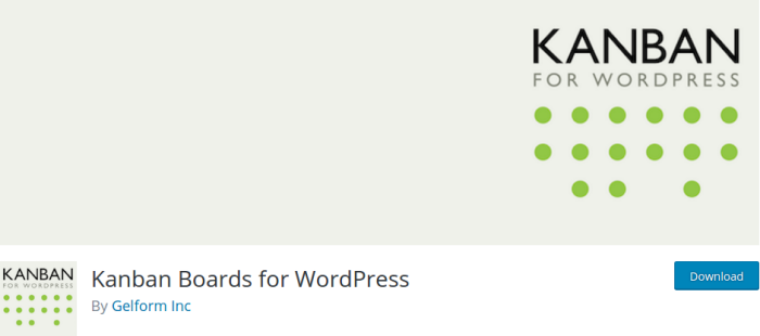 Kanban Boards WordPress Plugin