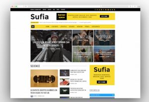 Sufia wordpress viral theme