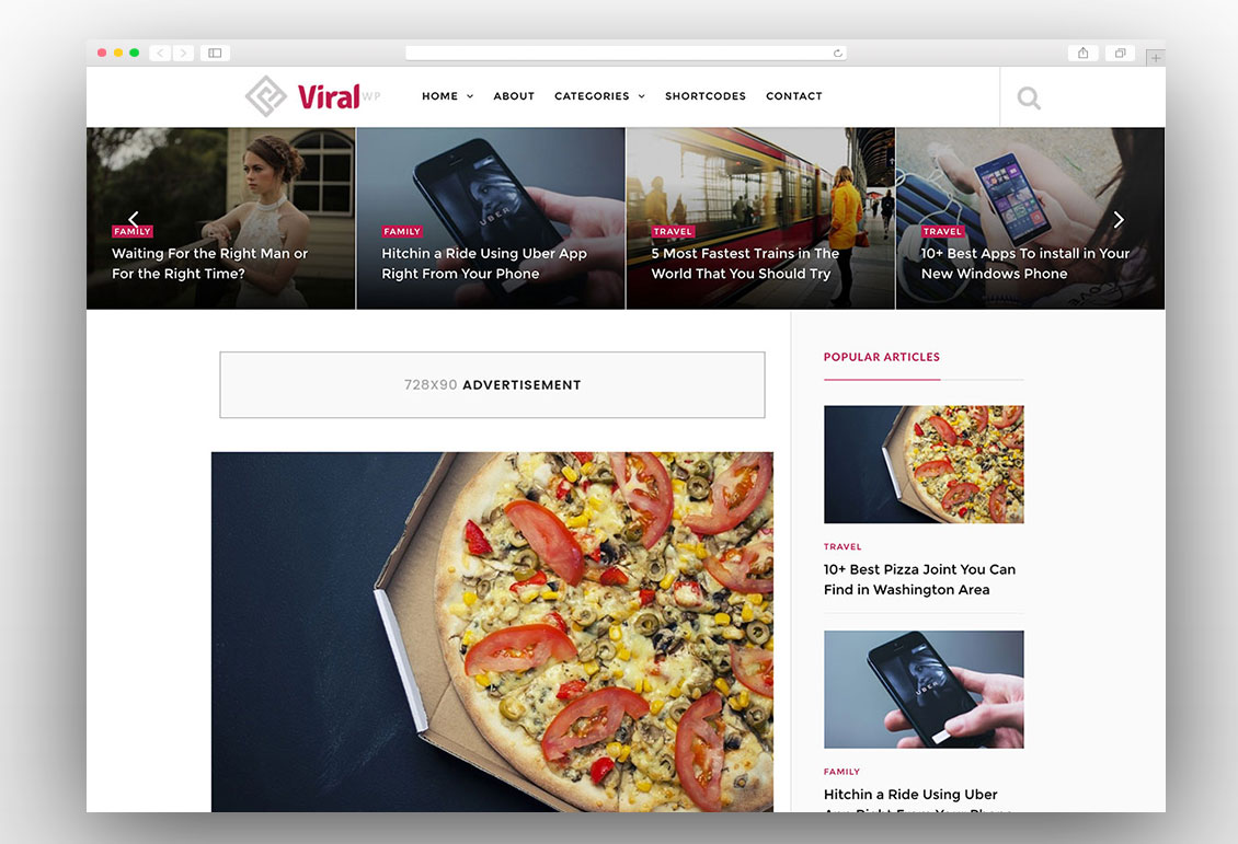 ViralWP wordpress theme
