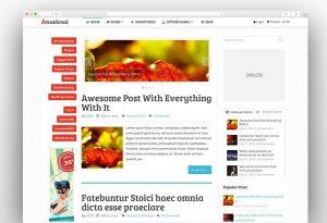 Sensational adsense ready wordpress theme