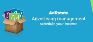 adrotate advertising plugin