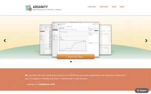 adsanity ad management plugin