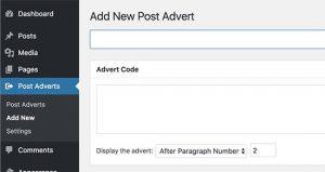 insertpostads ads plugin