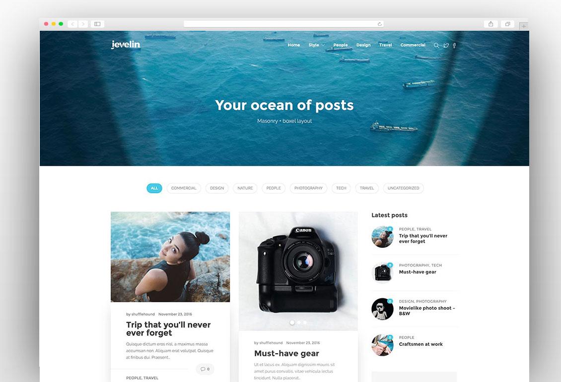 jevelin-minimal-wordpress-blog-theme- adsense