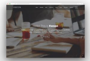 kwoon-material-design-theme