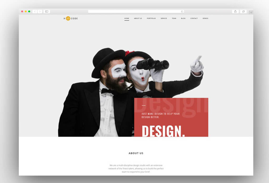 h-code-creative-wordpress-theme