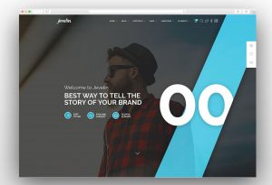 Jevelin creative agency theme