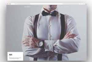 The Agency creative wordpress theme