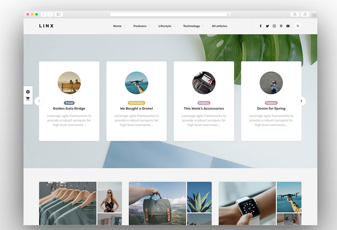 linx-wordpress-theme